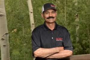 Hoeft team member David Chavez