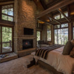 Beaver-Creek-mountain-modern-master-bedroom-fireplace-barnwood-ceilings