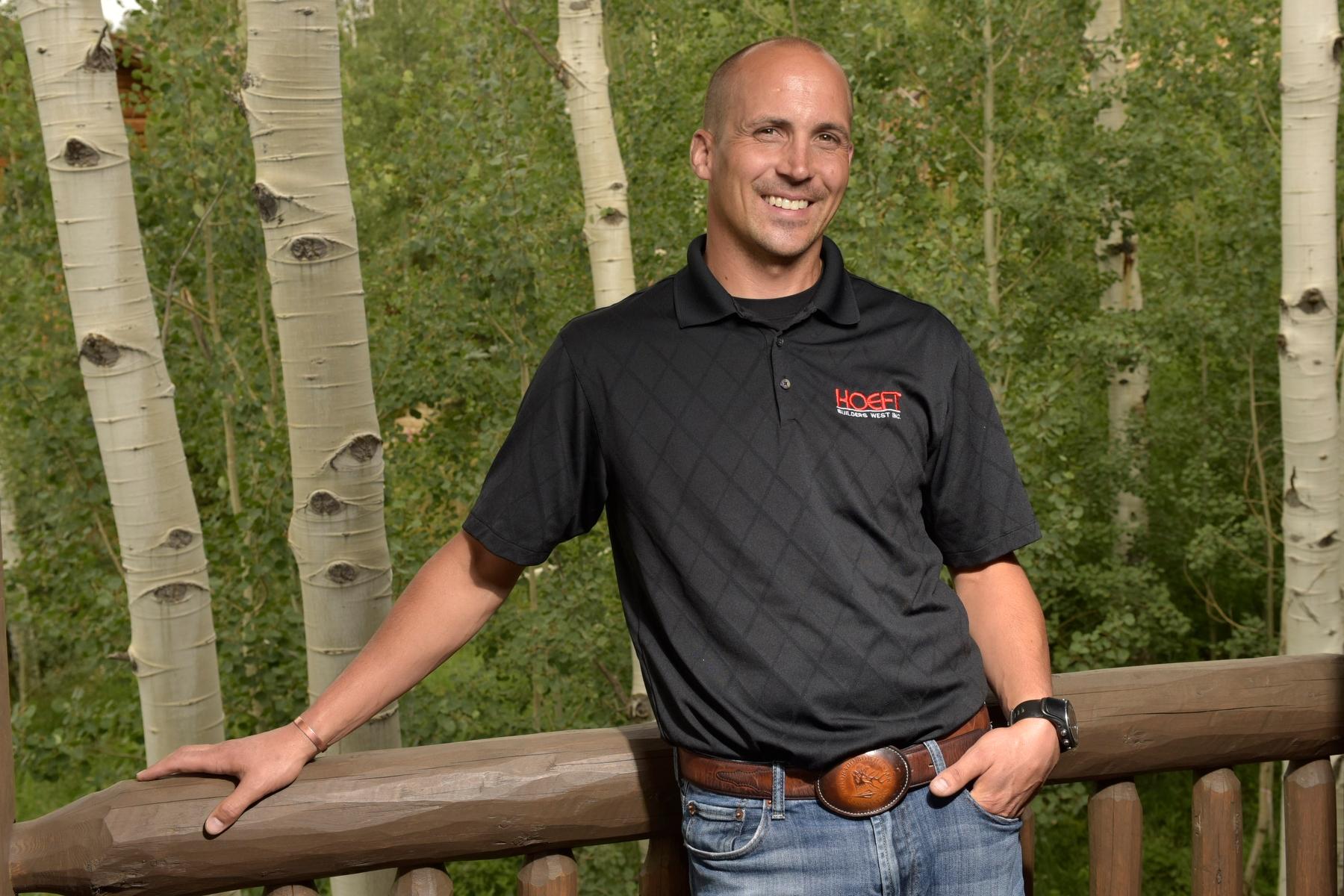 Hoeft team member and Owner Patrick Hoeft